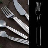 """Steelite 5355S023 Casablanca S/S 7-1/2"""" Salad Fork - Dozen"""