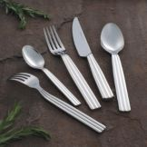 Steelite 5355S072 Casablanca S/S Long Serving Fork - Dozen