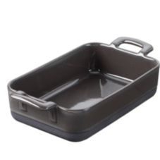 Revol® USA 635286 Eclipse 24.75 Oz. Slate Roasting Dish - 3 / CS