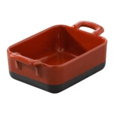 Revol® USA 12-1/4 Oz. Red Square Baking Dish