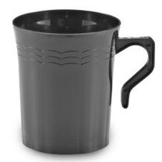 EMI Yoshi® EMI-REM8-BLK Plastic 8 Oz Coffee Mug - 192 / CS