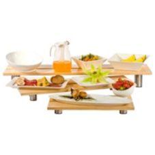 Buffet Euro WW 3000 Rectangle 3-Piece Bamboo Riser Set