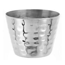 American Metalcraft HAMSC Hammered S/S 2 Oz Sauce Cup - Dozen