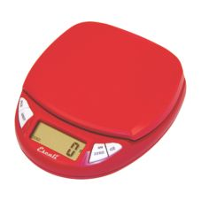 Escali® Pico Cherry Red Electronic Pocket Scale w/ Cover