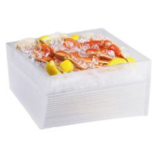 "Cal-Mil® 692-12-6 Acrylic 12 x 12 x 6"" Oblique Ice Display"