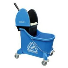 Kay Chemical 89990207 Blue Dual Chamber Down Press Wringer Mop Bucket