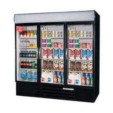 Beverage-Air 3-Glass Door Freezer Merchandiser