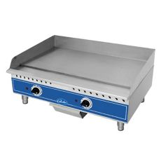 "Globe Food GEG24 Countertop 24"" Electric Medium Duty Griddle"