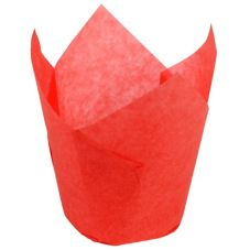 Hoffmaster® 611105 Large Red Tulip Cups - 2500 / CS