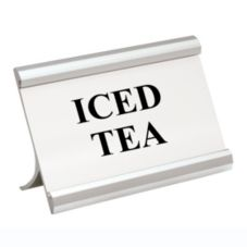 "Action Industries 265-ICEDTEA ""Iced Tea"" Coffee Break Sign"