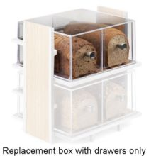 Cal-Mil 1480 Replacement Drawer for 1279 Breadbox Display