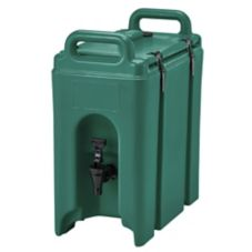 Cambro 250LCD519 Green 2.5 Gallon Insulated Beverage Camtainer®