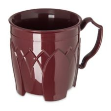 Dinex DX500061 Fenwick Cranberry 8 Oz. Insulated Mug - 48 / CS