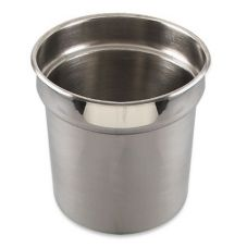 "Browne Foodservice VI0612 4 Qt. Inset Pan for 6.5"" Opening"