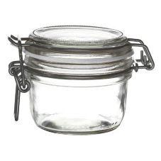 Bormioli Rocco 4949Q459 6 Oz Fido Jar With White Gasket - 12 / CS