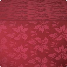"Marko 5392-046 SoftWeave™ 52"" x 52"" Burgundy Tablecloth"