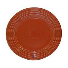 "Homer Laughlin China 463334 Fiesta® Paprika 6-1/8"" Plate - 12 / CS"