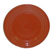 "Homer Laughlin  466334 Fiesta® Paprika 10-1/2"" Plate - 12 / CS"
