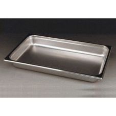 DW Haber & Sons Silver Rect. Water Pan for Full Size 8 Qt Chafer