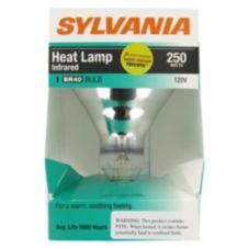 Hatco WHITE-CTD-120 Clear 250 Watt Heat Bulb