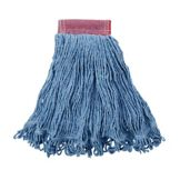Rubbermaid FGD25306BL00 Super Stitch Blue Blend Mop with 5 In Headband