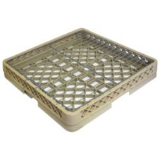 "Vollrath 19-3/4"" x 19-3/4"" Beige Open Rack W/ Hold Down Grid"
