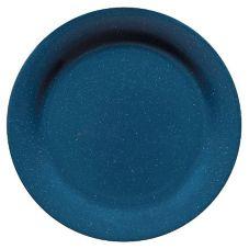 "G.E.T.® BF-090-TB 9"" Texas Blue Round Plate - 24 / CS"