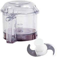 Robot Coupe® 27240 3 Qt Clear Bowl Kit for R2N Food Processor