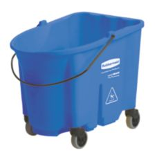 Rubbermaid® FG757088BLUE WaveBrake 35 Qt Mop Bucket with Casters