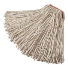 Rubbermaid® FGF11900WH00 White Premium Cut End Cotton Mop Head