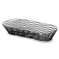 "Tablecraft Artisan Collection™ Black 15"" Oblong Basket"