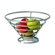 Spectrum Euro Satin Nickel Fruit Bowl