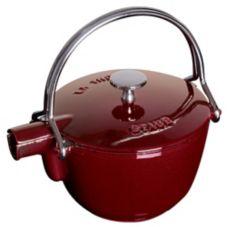 Staub USA 1650087 Grenadine La Theire 1 Qt. Round Teapot