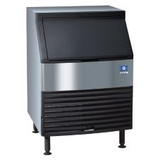 Manitowoc QY-0214A Cube Style S/S Air-Cooled Ice Maker With Bin