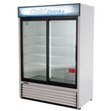 Turbo Air TGM-48R 2-Section Sliding Doors Refrigerated Merchandiser