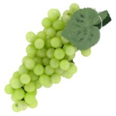 "Allstate Floral Green 5½"" Grape Cluster Replica"
