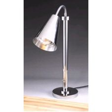 D.W. Haber & Sons 0499MSS-1 Modern Satin Finish Portable Heat Lamp