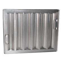 "Franklin Machine Products Aluminum 16"" Square Baffle Filter"