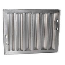 "FMP® 129-1272 Aluminum 16"" Square Baffle Filter"