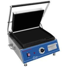 "Globe Food Equipment S/S 14 x 10"" 120-V Sandwich Grill"