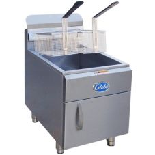 Globe Food GF30G Countertop 30-LB Capacity Natural Gas Fryer
