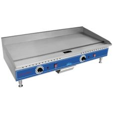 "Globe Food PG36E Countertop 208v Electric 36"" Economy Griddle"