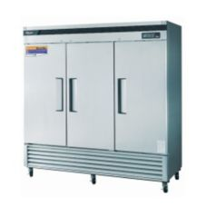 Turbo Air TSR-72SD S/S 3-Section Reach-In Refrigerator