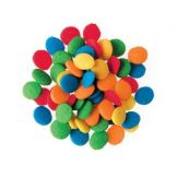 Lucks™ Quins Small Primary Confetti