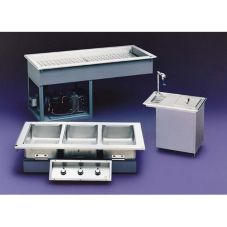 Randell Mfg. Drop In Electric Common Waterbath 4-Pan Hot Foodwell