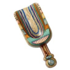 Norpro 5555 Multi-Colored 4 Oz. Lacquered Wood Scoop