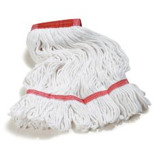 Carlisle® 369424B00 Flo-Pac Large Looped-End Red Band Mop Head
