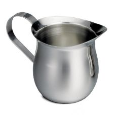 Tablecraft 2316 16 Oz. Stainless Steel Bell Creamer