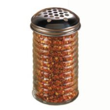American Metalcraft BEE319 Beehive 12 Oz Cheese Shaker w/ 1/4 In Holes