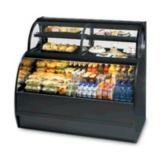 "Federal Industries SSRC-5952 Black 59"" Refrigerated Display Case"